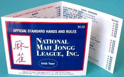 Sassy image for national mah jongg league card printable